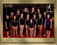 GFA Team Photo gold border