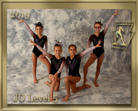JO Level 5 Photo gold border