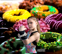 Katie Bond - Donuts - Gymnastics Photo